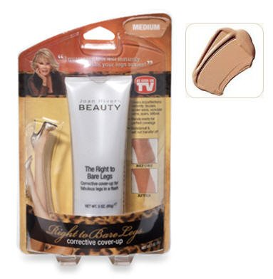 Joan Rivers Beauty-The Right to Bare Legs Corrective Cover U