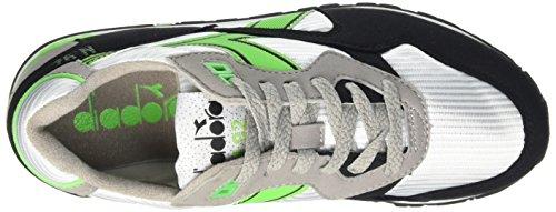 – 92 Diadora Bianco Multicolore Scarpe Verde Unisex Adulto Top Fluo Low C6109 N YYxwOf