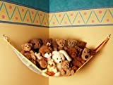 : Teddy Hammock Toy Storage Net - Primary