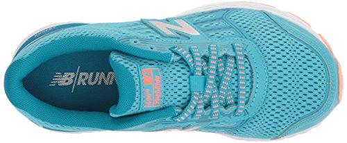 New Balance Girls' 680v5 Running Shoe, Ozone Blue/Fiji, 12 M US Little Kid by New Balance (Image #8)