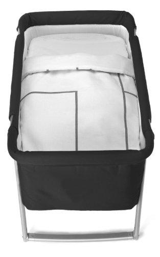 BABYHOME - Saco Nórdico Babyhome Sleeping Bag Minimal para Minicuna blanco/tostado: Amazon.es: Bebé