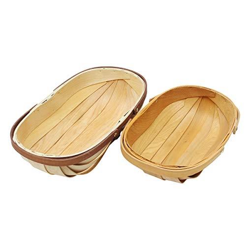 GGGarden GGGarden AU S/L Wooden Sussex Trug Garden Trugs Food Fruit Vegetables Hand Made Baskets Storage - L