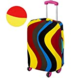 Bennyue Travel Luggage Cover Spandex Elastic Stretch Suitcase Protector ProtectiveBag Fits 18-28 Inch (L)
