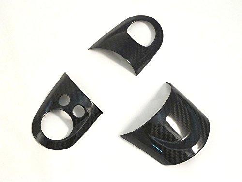 Dry Carbon Fiber Steering Wheel Cover for MINI COOPER R56 (Mini Cooper S Carbon Fiber)