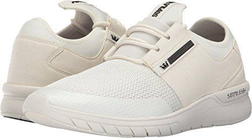 Supra Flow Run Skate Schoen Off-white / Off-white