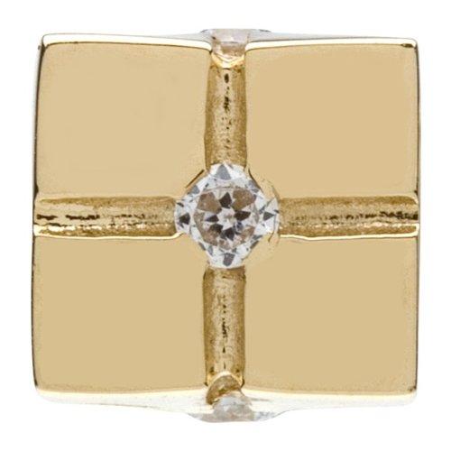 Authentic Chamilia 14k YG Gift Box Charm