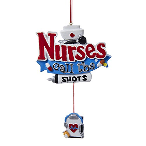 Nurses Call The Shots with Dangling Board