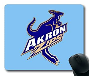 Akron Zips College Sports Logo Rectangle Mouse Pad by eeMuse