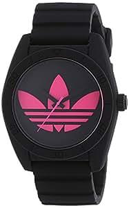 adidas  ADH2878 - Reloj de cuarzo para mujer, con correa de silicona, color negro