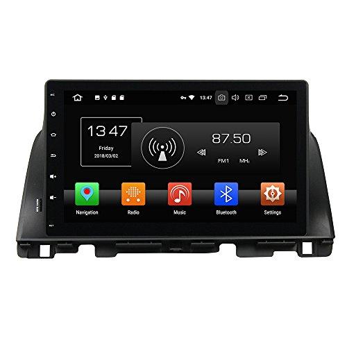 (KUNFINE 10.1 Inch Octa Core Android 8 Car DVD GPS Navigation Car Stereo Multimedia Player Radio Headunit for KIA K5 Optima 2015 Supports WiFi)