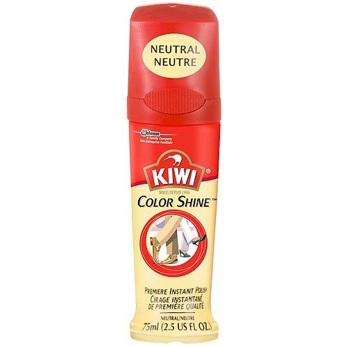 KIWI Leather Premiere Shine Shoe Polish, Neutral 2.5 oz (Pack of 3)