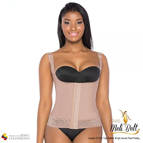 Aranza Faja Colombiana Reductora y Modeladora Chaleco Melibelt 5018 Colombian Shapewear Vest at Amazon Womens Clothing store:
