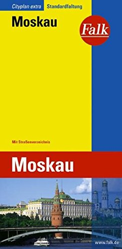 Falk Cityplan Extra Standardfaltung International Moskau mit Straßenverzeichnis