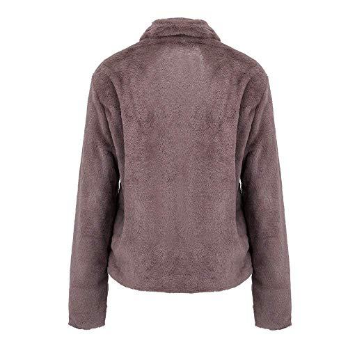 Xxl Casualjack Mode Femme Kaki Zippé Hiver Manteau Taille Vêtement Gradient Outwear coloré Parka Féminine Violet Décontracté Veste Pour xqwnH0zaF