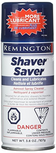 Remington Shaver 81626 3.8 Oz Shaver Saver Aerosol Spray Cleaner