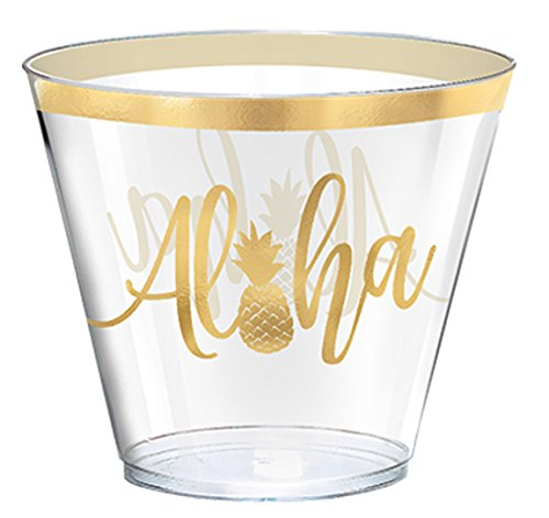 You Had Me at Aloha Plastic Cups -