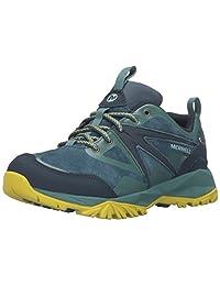Merrell Women's Capra Bolt Leather Waterproof Hiking Shoe, Sagebrush Green, 10.5 M US