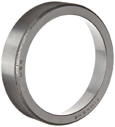 (Timken 15245 Tapered Roller Bearing, Single Cup, Standard Tolerance, Straight Outside Diameter, Steel, Inch, 2.441