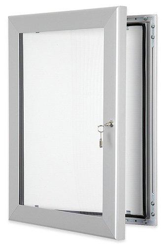 in formato A2 Bacheca con chiusura esterna con guarnizione impermeabile non appuntabile per uso interno o esterno XL Displays 2 x A4