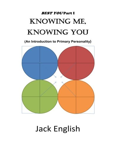 Knowing Me, Knowing You: An Introduction to Primary Personality (Best You) (Volume 1)