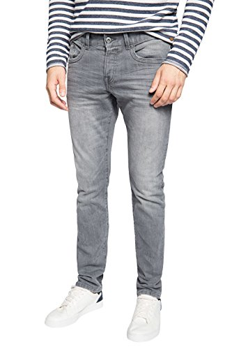 edc by ESPRIT Herren Slim Jeanshose 085CC2B010, Gr. W30/L32, Grau (GREY LIGHT WASH)