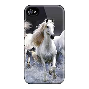 New Fashionable Mwaerke OotfhSm3999geNry Cover Case Specially Made For Iphone 4/4s(mystic Horses) by lolosakes