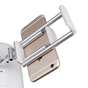 Owoda 2 in 1 Cellphone / Tablet Extended Holder Adjustable Stand for DJI Phantom 3 Standard Remote Controller by Owoda