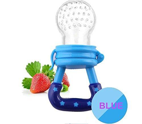 Silicone Baby Feeder Feeding L (Blue) - 8