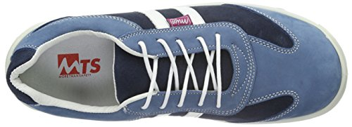 Miss azul 9208 de Zapatos piel Olivia MTS MTS S3 Seguridad Sicherheitsschuhe azul mujer De Flex STf1xB