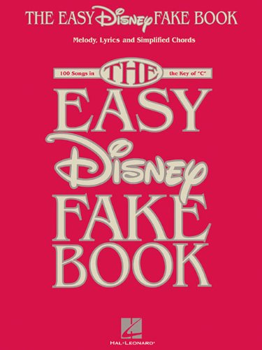 (The Easy Disney Fake Book)