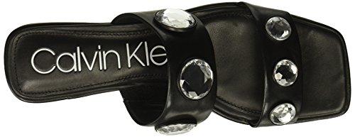 Klein Calvin Kace Slide Women's Sandal Black SSqdr8w