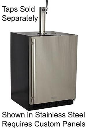 Marvel ML24BNP2RP Indoor Draft Beer Dispenser Cabinets Panel Ready Overlay  Door, 24u0026quot;, ...