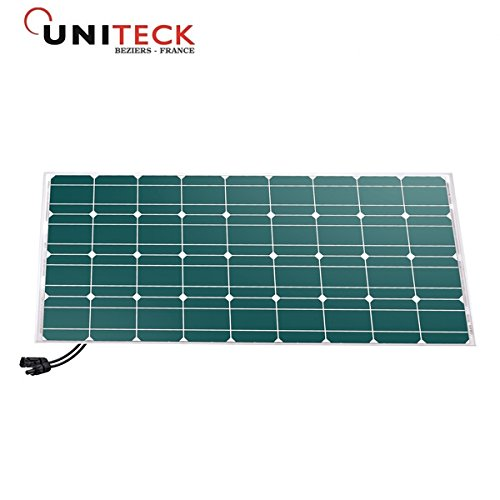 Solarpanel unisun 100W–12V Monokristallines