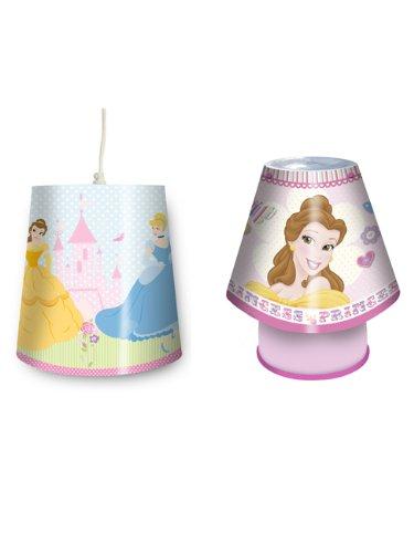 Disney Princess Light Shade Kool Lamp Lighting Set Amazon Co Uk