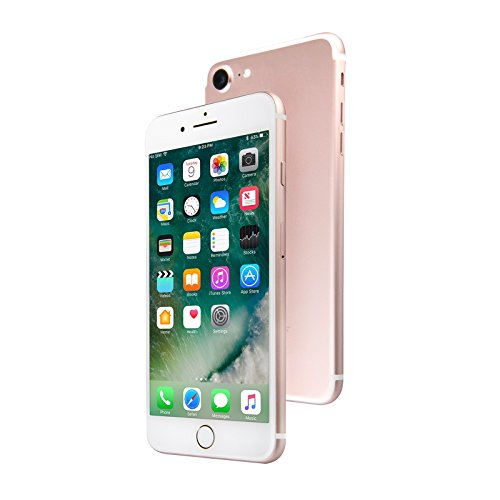 Apple iPhone 7, 256GB, Rose Gold - for AT&T/T-Mobile (Renewed)