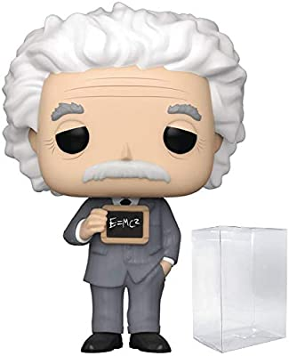 Pop Icons: Historia – Albert Einstein Pop! Figura de Vinilo ...