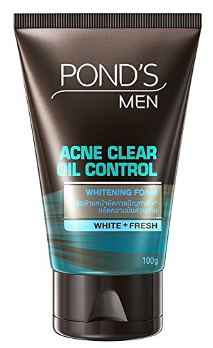 Pond's Men Acne Clear Oil Control Facials Foam (Acne Jersey)