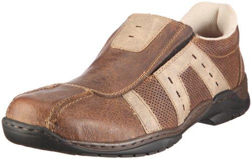 Rieker Ross 09075-00 Herren Sneaker Braun/Toffee/Kiesel