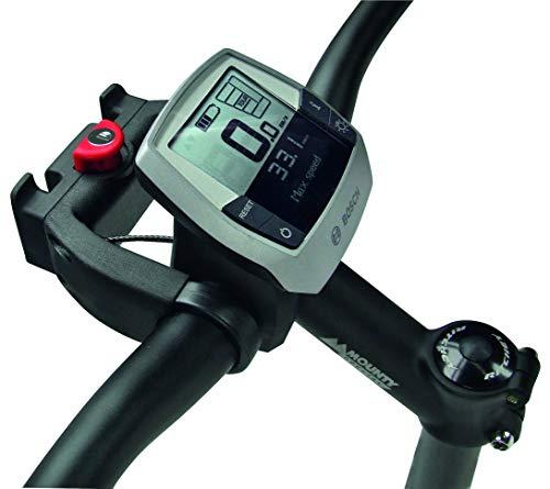 Klickfix E-stuuradapter met slot voor e-bikes met display, universeel – geschikt voor sturen met 22-26 mm en oversized…