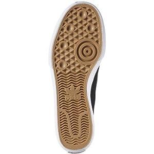 adidas Originals Men's Matchcourt Slip Skate Shoe, Core Black, Core Black, Ftwr White, 6 M US