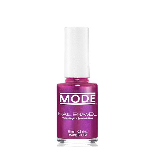 (MODE Nail Enamel - Long Wear, High Gloss, Chip Resistant Cruelty-Free/Vegan Salon Nail Polish Formula - MADE IN THE BEAUTIFUL USA (Magnificant Magenta with Multi-tone Luster - Shade #144))