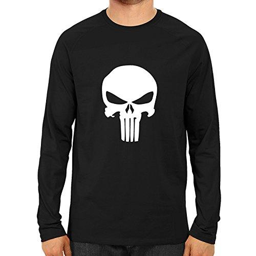 ba7f3448 The Punisher Full Sleeve Premium Cotton T Shirt: Amazon.in: Clothing &  Accessories