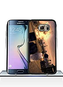 Galaxy S6 Edge Funda Case, Game - Saints Row Game Impact Resistant Durable Aesthetic Personalized Style Anti Dust Extra Slim Compatible with Samsung Galaxy S6 Edge [Just fit for S6 Edge]