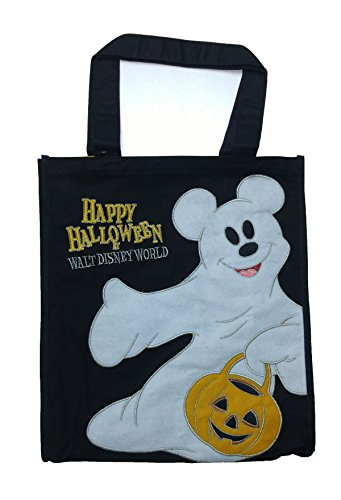 Disney Mickey Ghost Cloth Trick or Treat Bag