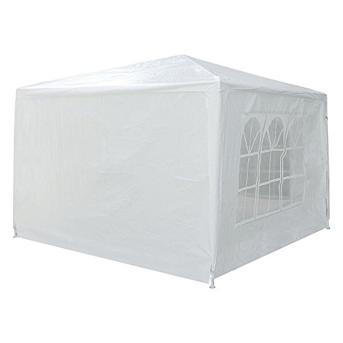 Yescom 10x10' White Outdoor Wedding Party Patio w/Removable Side Wall Canopy for Fetes Event by Yescom (Image #3)'