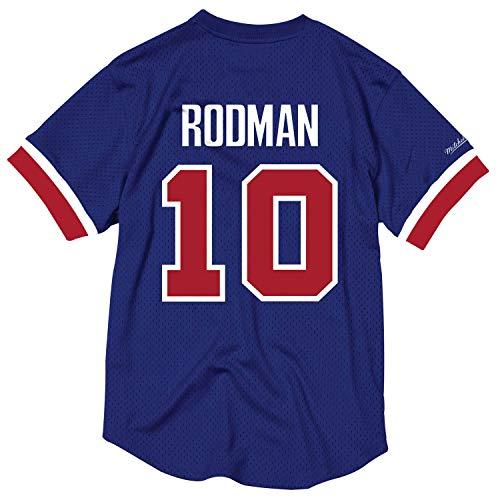 Dennis Rodman Detroit Pistons Mitchell & Ness NBA Men's Mesh Jersey Shirt