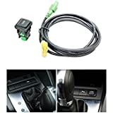 Eximtrade USB Port Socket Switch Cable for VW Volkswagen RNS315 RCD510