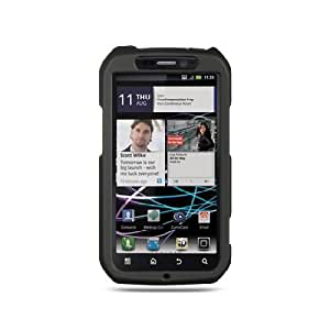 Black Hard Cover Case for Motorola Photon 4G MB855