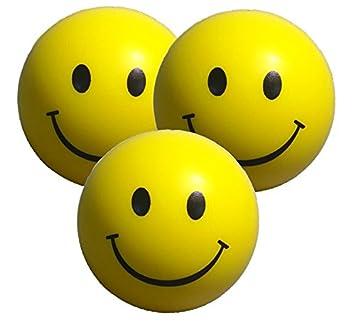Bien connu Balle Anti Stress - 3 x balle de stress en juane - parfaite pour  FE02
