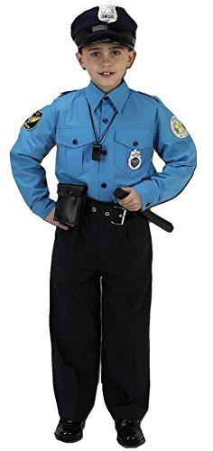 Aeromax Jr. Police Suit, 8-10